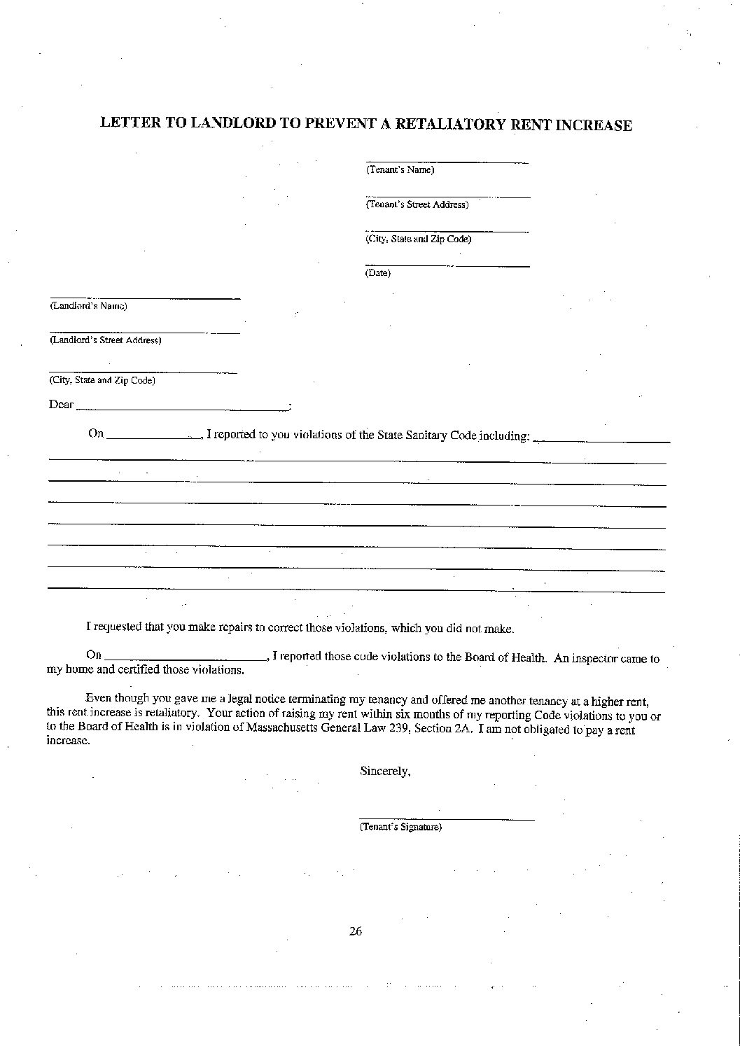 Landlord Rental Increase Letter from watchcdc.org